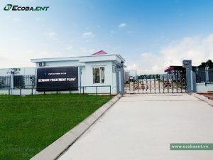 <p>Trạm xử lý nước thải KCN Vsip Hải Phòng</p>