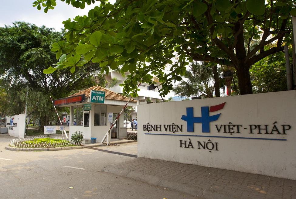 Trạm XLNT Bệnh viện Việt Pháp