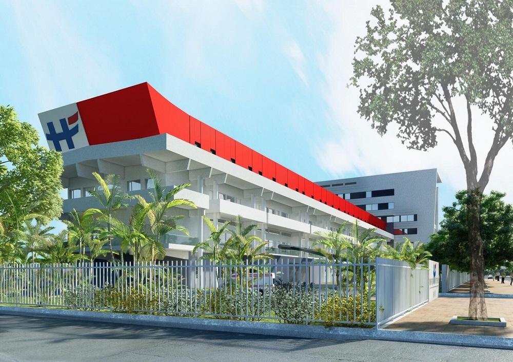 Trạm xử lý nước thải Bệnh viện Việt Pháp