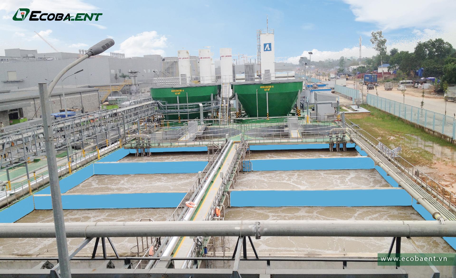 Nhà máy xử lý nước thải Samsung 2000