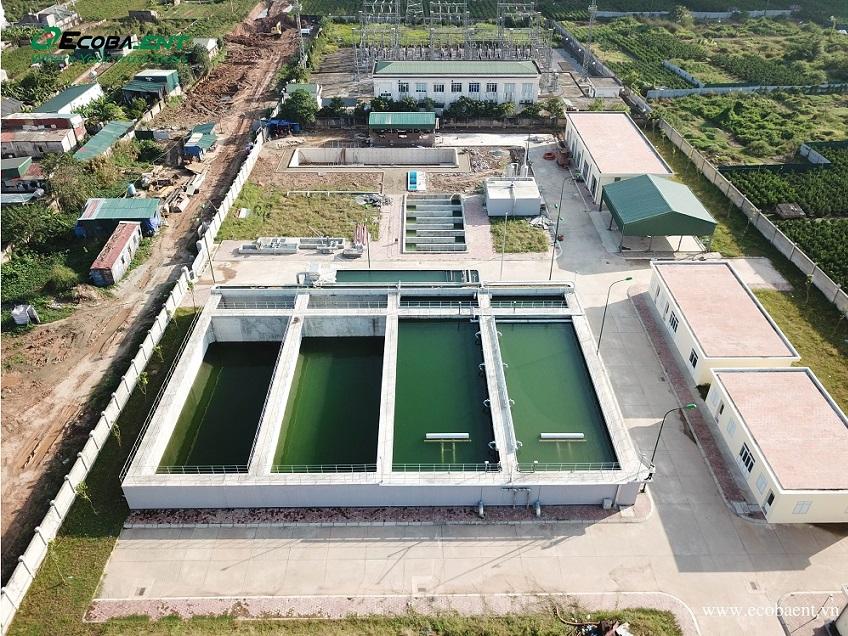 Trạm xử lý nước thải KĐT Nam Thăng Long Ciputra Hà Nội