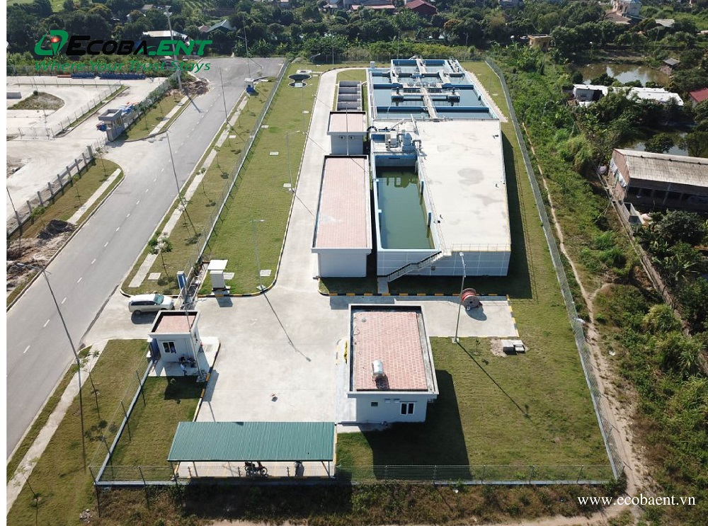 Trạm xử lý nước thải KCN Vsip Hải Dương