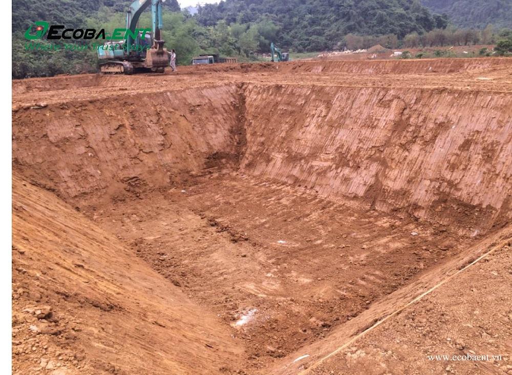 The wastewater treatment plant for Hoa Phat Hoa Binh Breeding Farm