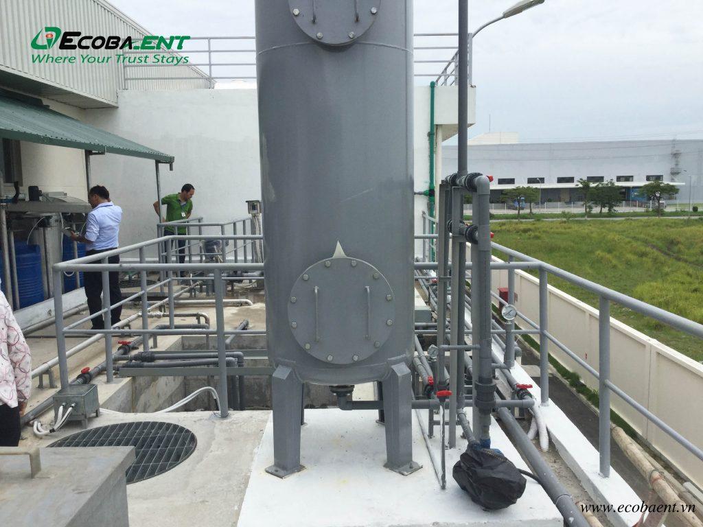 Trạm xử lý Nước thải sản xuất & công nghiệp bánh kẹo Phạm Nguyên