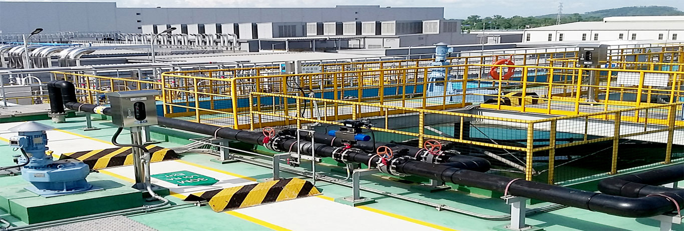 Samsung 3D Glass Waste Water Treatment Plant