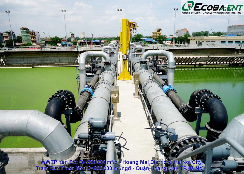 Nhà máy xử lý nước thải Yên Sở