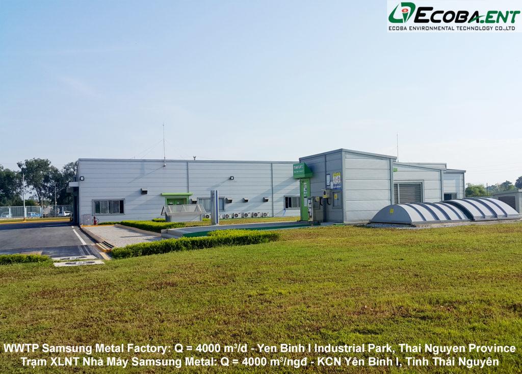 Trạm xử lý nước thải Samsung Metal