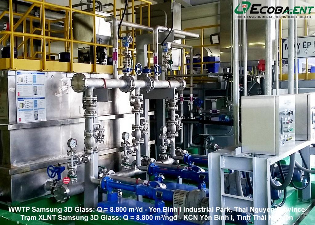 Trạm xử lý nước thải Samsung 3D Glass