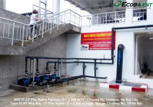 <p>Nhà máy xử lý nước thải cho Nhà máy chế biến thực phẩm C.P Phú Nghĩa</p>