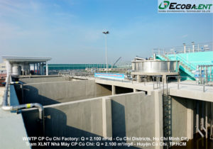 <p>C.P Cu Chi Food Processing Factory Waste Water Treatment Plant</p>