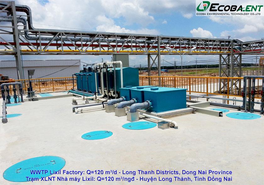 Trạm xử lý Nước thải sinh hoạt & đô thị Lixil Việt Nam