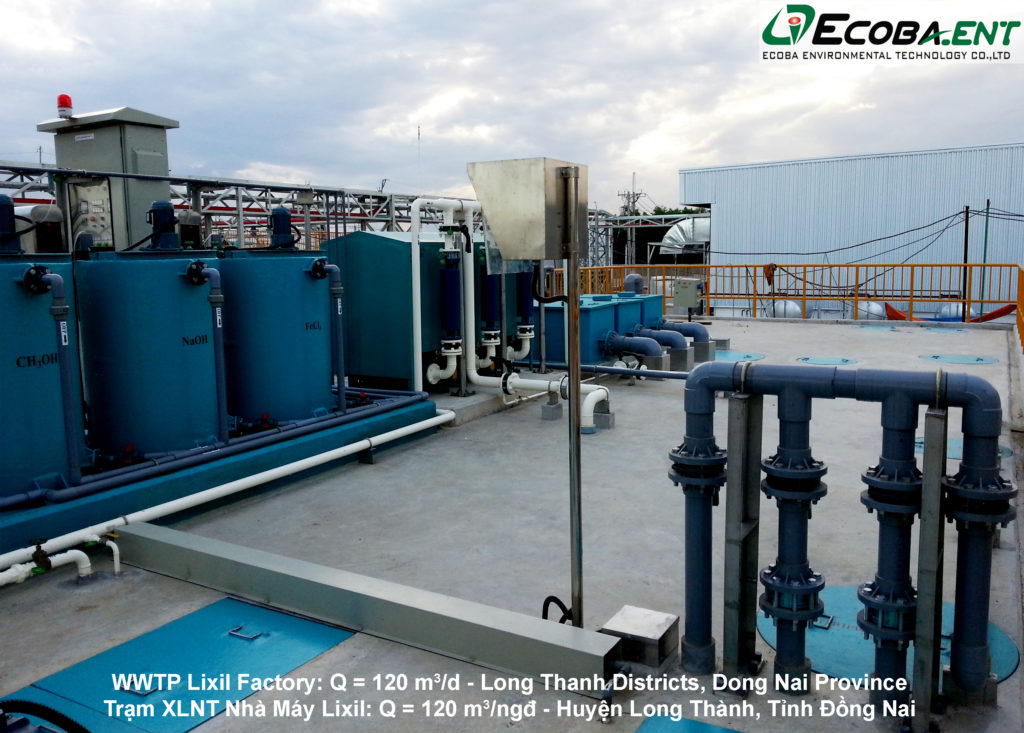 The wastewater treatment plant for Lixil Factory
