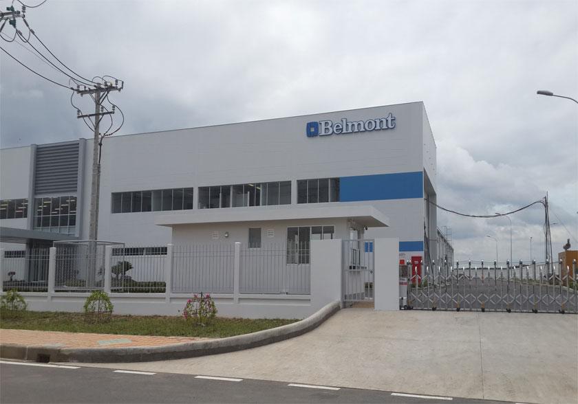 Trạm xử lý Nước thải sinh hoạt & đô thị nhà máy Belmont