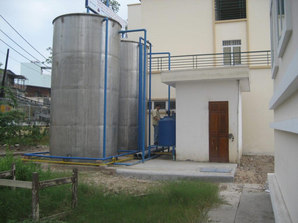 Trạm xử lý nước thải – Dự án cải tiến và mở rộng Viện Pasteur – TP. Hồ Chí Minh