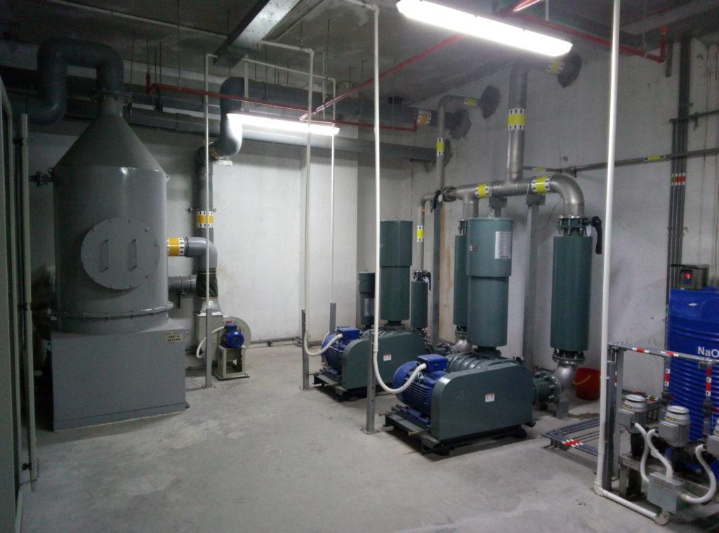 Trạm xử lý nước thải Khu nhà ở cao tầng kết hợp TTTM, VP cho thuê Home