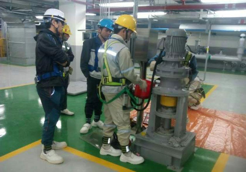Trạm xử lý nước thải Samsung 3D