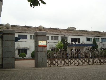 The wastewater treatment plant for Soi Det Textile Factory