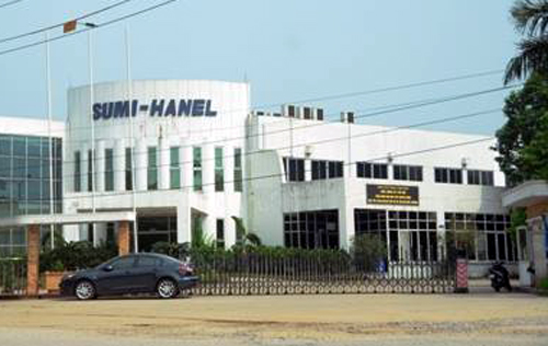 The wastewater treatment plant for Sumi-Hanel