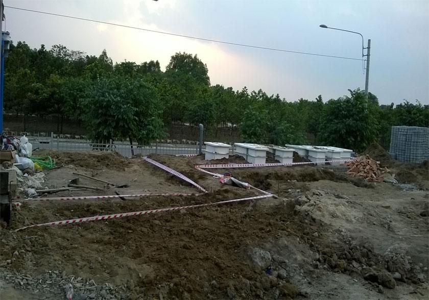 Trạm xử lý nước thải Trạm Vina Washin
