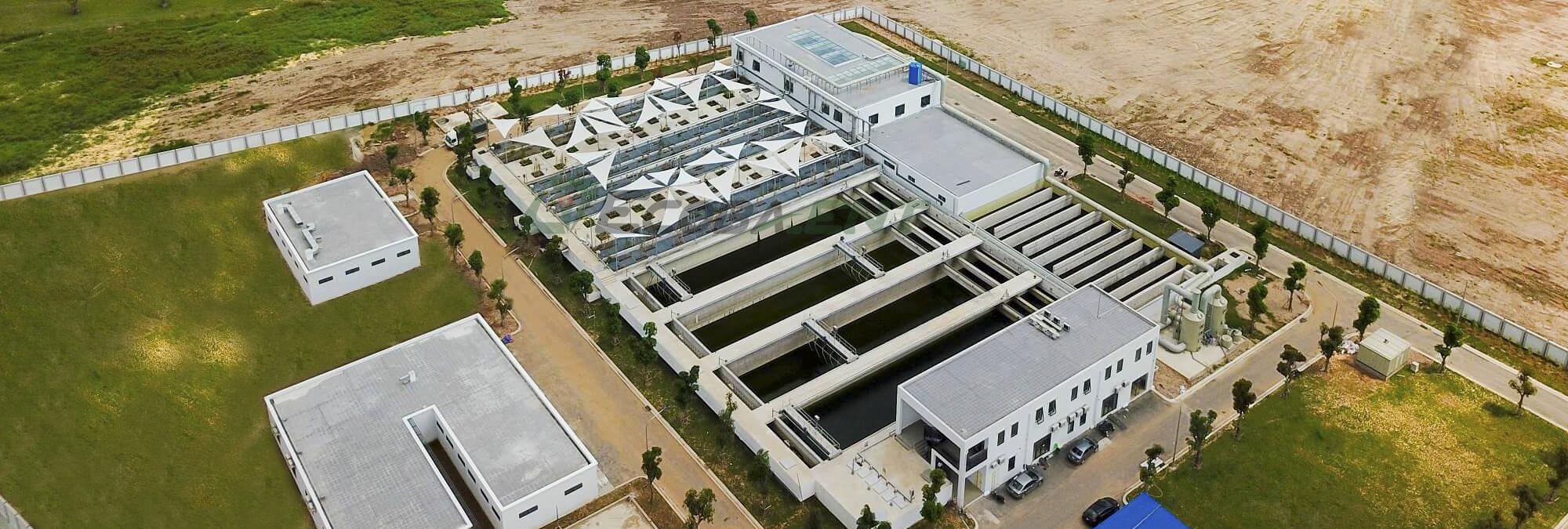 Nhà máy xử lý nước thải KĐT Vinhomes Ocean Park - CS 38.000 m3/ngày đêm