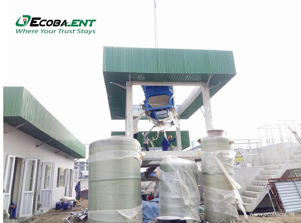 Trạm xử lý nước thải sản xuất và sinh hoạt Nhà máy tôn mạ màu Hòa Phát