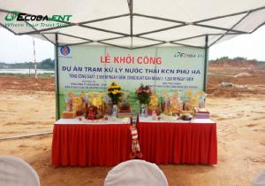 <p>Trạm xử lý nước thải KCN Phú Hà</p>