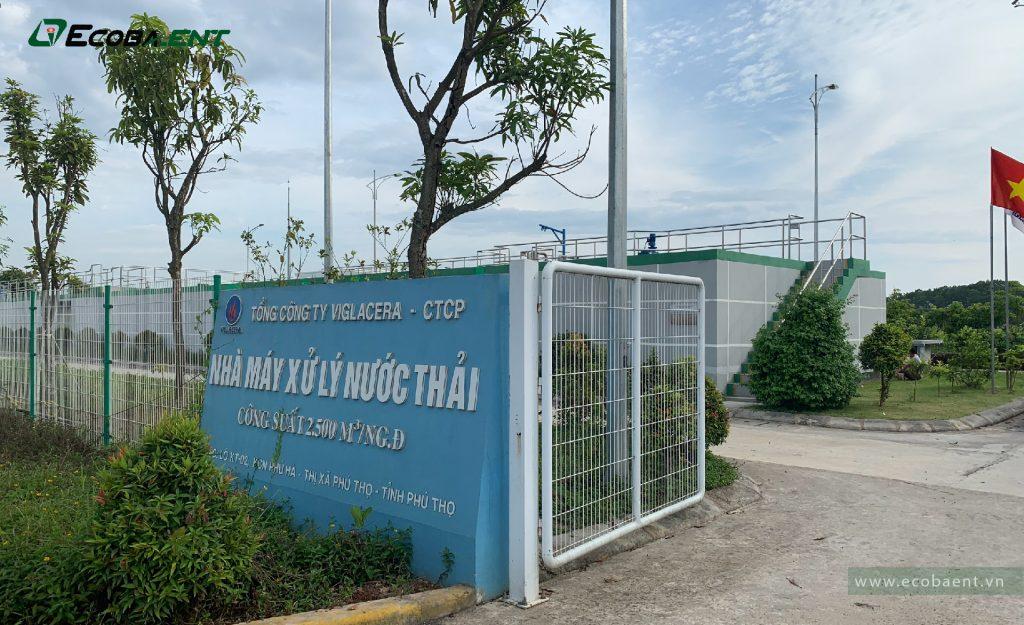 Trạm xử lý nước thải KCN Phú Hà