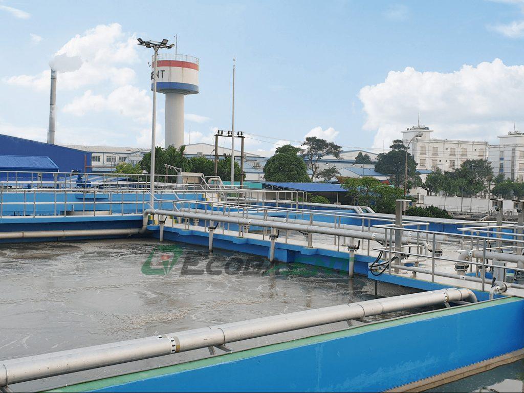 Nhà máy xử lý nước thải KCN Nam Sách