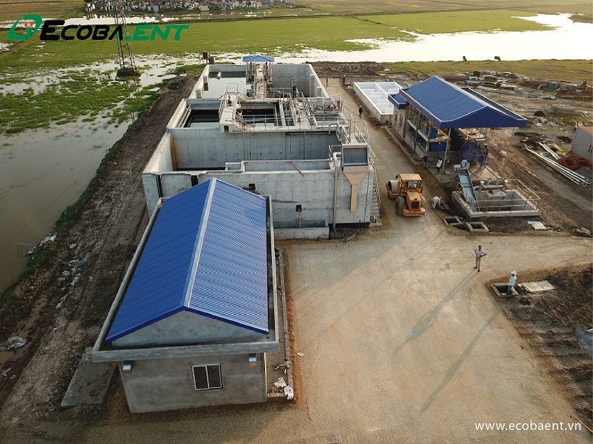 Nhà máy xử lý nước thải KCN Yên Mỹ II
