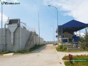 <p>Nhà máy xử lý nước thải KCN Yên Mỹ II</p>