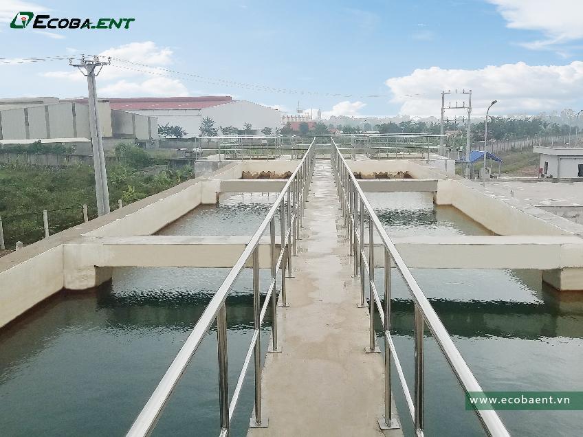 Nhà máy xử lý nước sạch KCN Yên Mỹ II