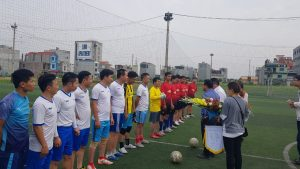 Friendly game between Ecoba ENT and TNG Group
