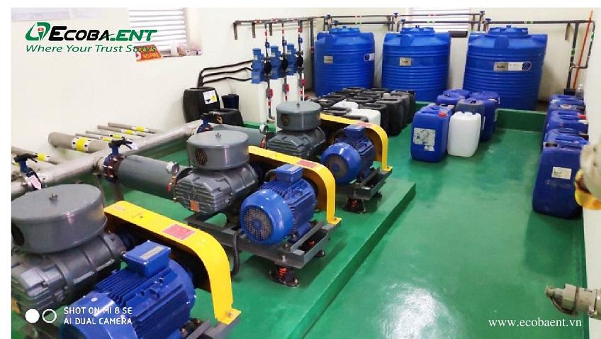 O&M hệ thống xử lý nước thải Jahwa Vina