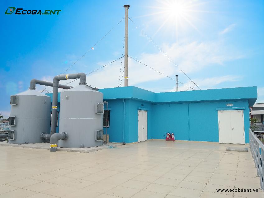 Trạm xử lý nước thải sinh hoạt nhà máy Vinfast Hải Phòng