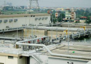 Ha Noi operates 8 waste water treatment plants regularly