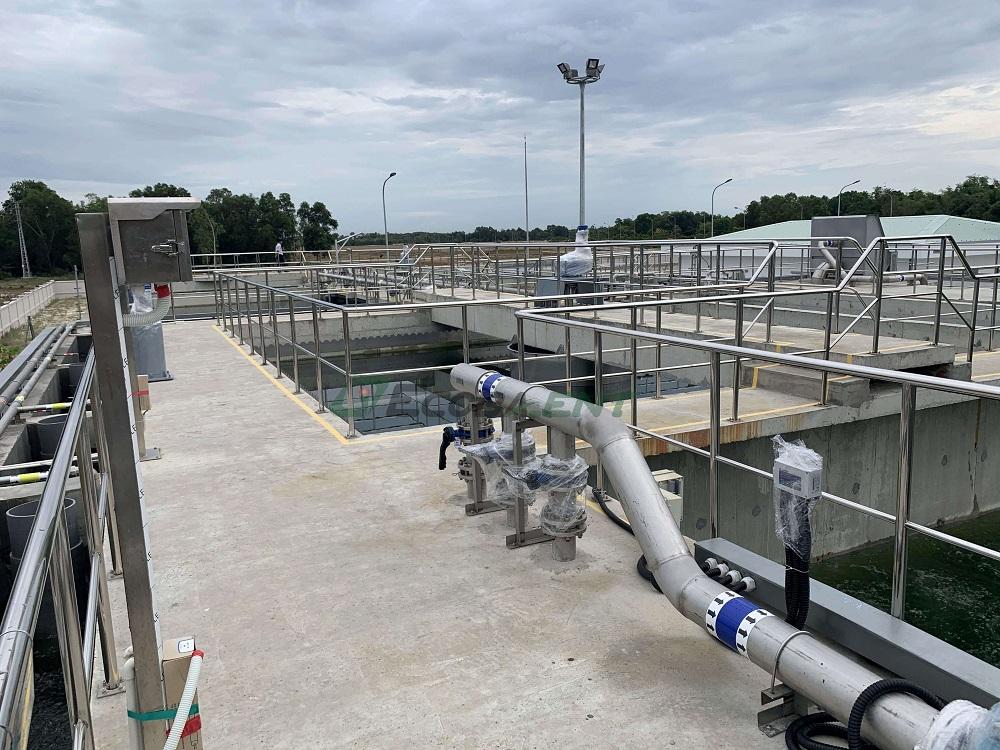 Trạm xử lý nước thải giai đoạn I, KCN Tam Thăng 2