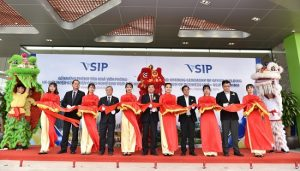 EcobaENT Director is pleased to attend the inauguration ceremony of VSIP Bac Ninh Office Building