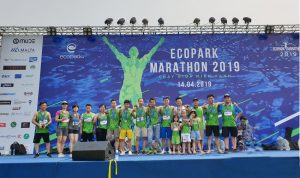 24 EcobaENT runners excellently finishes the Ecopark Marathon 2019