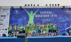 24 EcobaENT runners xuất sắc cán đích giải chạy Ecopark Marathon 2019
