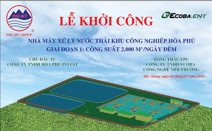 Hoa Phu Industrial Zone WasteWater Treatment Plant