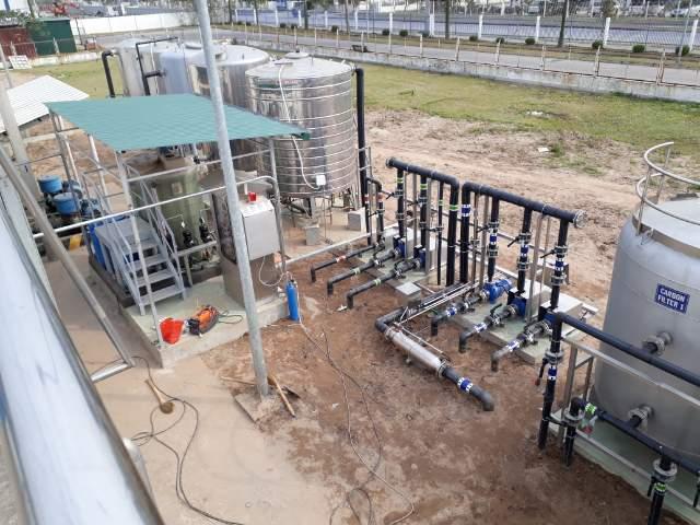 Bảo trì Trạm XLNT Pepsico – Bắc Ninh