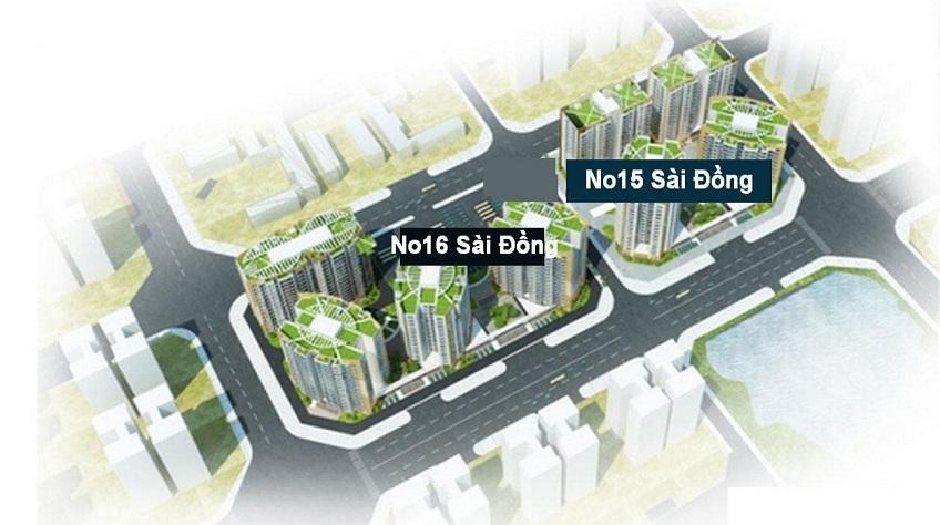 Trạm xử lý nước thải chung cư NO16 KĐT mới Sài Đồng