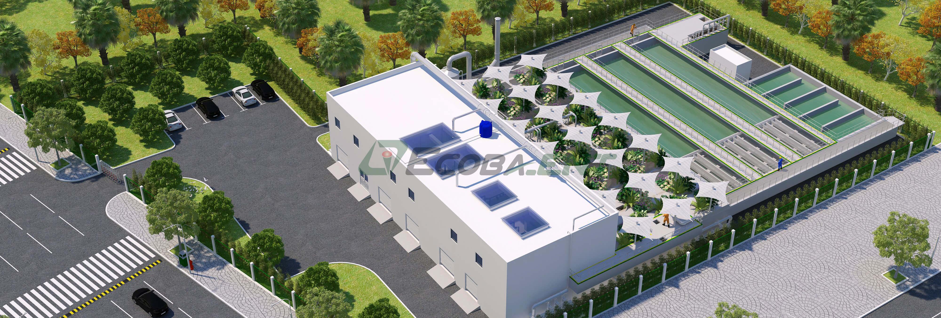 Nhà máy xử lý nước thải Vinhomes Smart City - CS 10.800 m3/ngày đêm