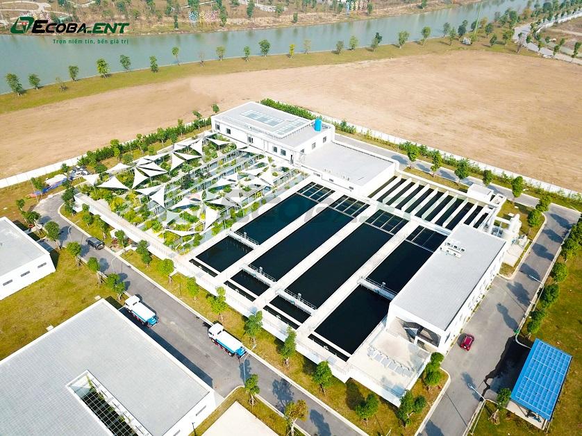 Nhà máy xử lý nước thải KĐT Vinhomes Ocean Park