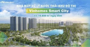 "Ecoba ENT won a big tender package ""The municipal wastewater treatment plant for Vinhomes Smart City urban area"