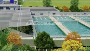 Ecoba ENT won 5 new wastewater treatment package