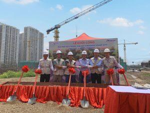 <p>Nhà máy xử lý nước thải Đại đô thị Vinhomes Smart City</p>