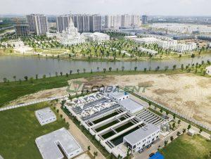 <p>Nhà máy xử lý nước thải KĐT Vinhomes Ocean Park</p>