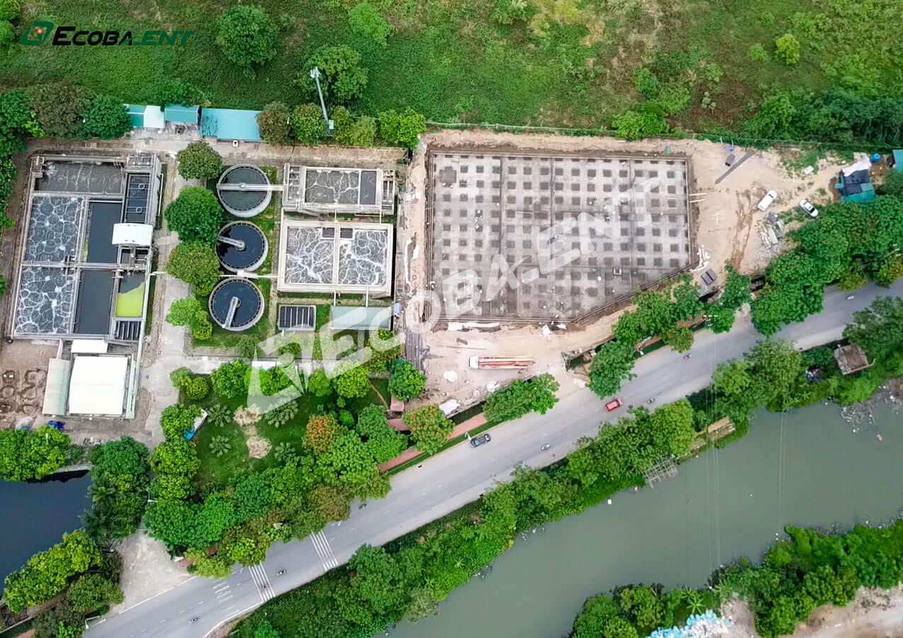 Trạm xử lý nước thải giai đoạn 3 KCN Tiên Sơn