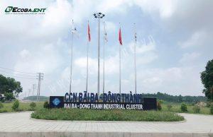Khởi công trạm xử lý nước thải cụm công nghiệp Bãi Ba, Phú Thọ